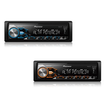Media Receiver Pioneer Mvh-x288fd Som Automotivo Mp3 Player