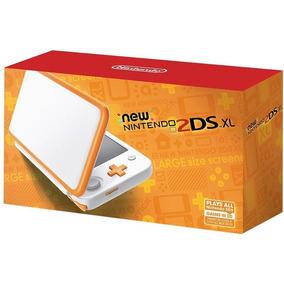 New Nintendo 2ds Xl Blanca/naranja, Macrotec