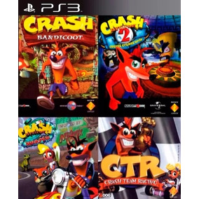 Crash Bandicoot Ps3 Collection Digital Español Oferta 4 En 1