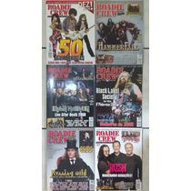 Lote C 14 Revistas Roadie Crew Rock Metal Death Frete Grátis