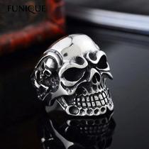Anillo Calavera Skull Acero Inoxidable