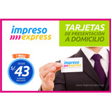 Tarjetas Personales - De Presentacion - Reparto Lima & Peru