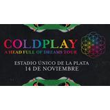 Dos Entradas Para Coldplay (campo)