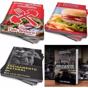 4 Livros Caio Bottura Completos + Brindes Top