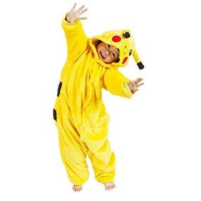 Pijama - Disfraz Pikachu Para Niño Infantil Unisex Cosplay