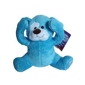 Peek-a-boo Felpa Animada Blue Dog Juega Al Escondite Y Habla