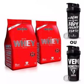 Combo 2x Nutri Whey Integralmedica 907g + Coquet.- Chocolate