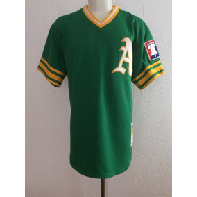 Jersey Oakland Athletics #34 Fingers 1976 Mitchell & Ness