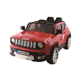 Jeep Renegade Red Hp-5688 12v Ride-on Car Para Niños Con ...