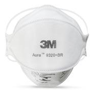 10 Máscara Respirador 3m Pff2 Aura 9320 N95 - C/ Nota Fiscal