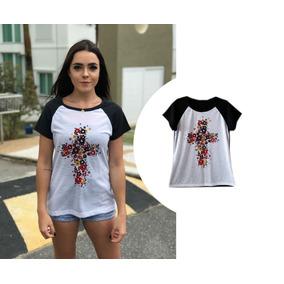 a4d37e14b Camiseta Branca De Algod O Feminina Mogi Das Cruzes Grande Sao Paulo ...