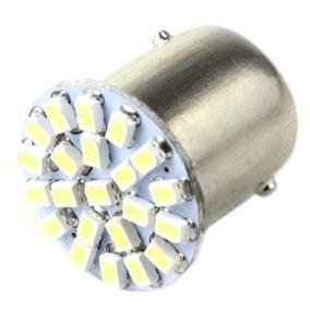 Lampada Led 2 Polos 22 Smd Lanterna Freio Luz Branca Xenon