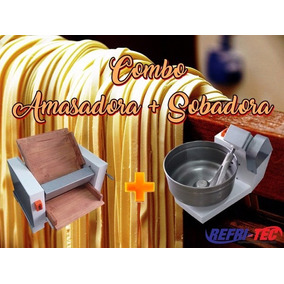 Combo Amasadora Con Reductor + Sobadora Maquina Panaderia