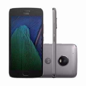 Celular Moto G5 Plus Dual Chip Cinza + Chip Tim Grátis