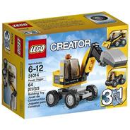 31014 Lego Creator Escavadora 3 En 1 Power Digger