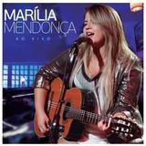 Cd Marília Mendonça Ao Vivo - Lacrado Original Novo