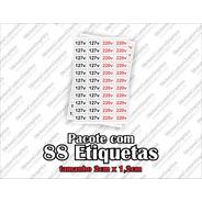 Etiquetas Adesivos 127v / 220v