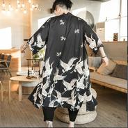 Kimono Grullas Large Unisex