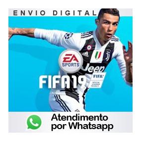 Fifa 19 Ps3 Código Psn Dublado Pt-br Envio Já! 2019 Futebol