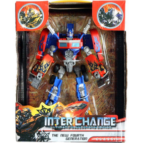 Muñeco Transformer Optimus Prime Interchange Robot