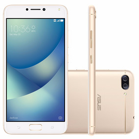 Celular Zenfone 4 Max Zc554 Dourado Dual Android 7