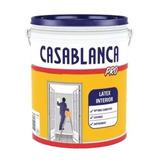 Latex Pro 20lts Litros Blanco Casablanca Pisano
