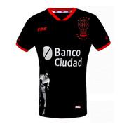 Camiseta Alternativa Ringo Bonavena Huracán Tbs 2019 Negra