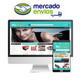 Loja Virtual Com Aplicativo Android, Mercado Envios +brindes