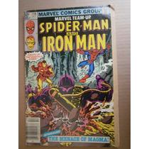 Spider-man & Iron Man Marvel Team-up 110 Marvel En Ingles 70