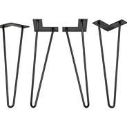 Pata De Hierro Hairpin Legs Escritorio Mesa 40 Cm X 4