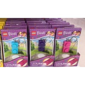 Lego Chaveiro Key Light Brick Roxo,rosa E Azul Cada Unid