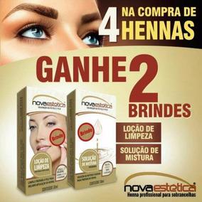 Kit Henna Para Sobrancelha Nova Estética - Cor A Escolher