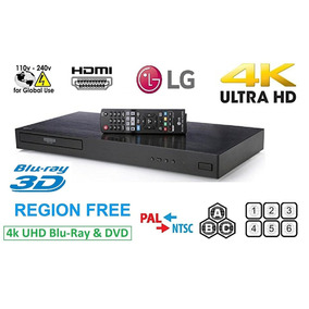Blu-ray E Dvd Player Lg 4k Ultra Hd Up870
