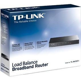 Balanceador De Carga De Banda Ancha Router Tp-link Tl-r470t+