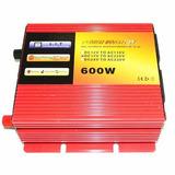Inversor Tensão 12v P/ 220v 600 Watts - Onda Modificada