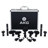 Akg Drum Set Session 1 Kit Para Bateria