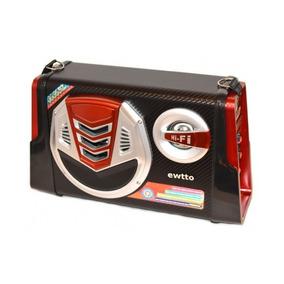 Micro System Caixa Som Amplicada Mp3 Usb Karaoke Bluetooth