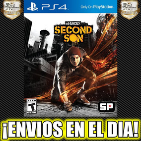Infamous Second Son Ps4 Juego Playstation 4 Stock