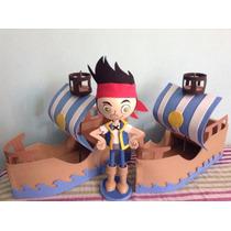 Centros De Mesa Jake Y Los Piratas,mickey Mouse Fofuchas