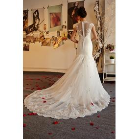 Vestido De Noiva Sereia Princesa Renda