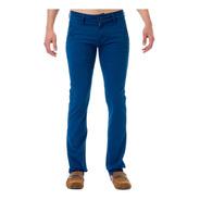 Pantalón De Gabardina Para Hombre Slim Fit Moda Gevy Jeans