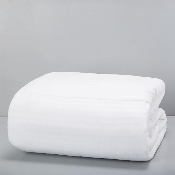 Relleno De Acolchado Arredo Queen Size Fibra - Color Blanco