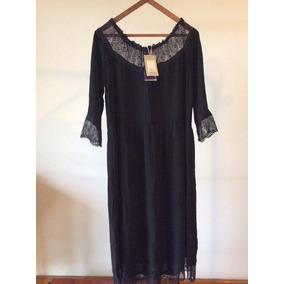 Vestido Midi Encaje Importado Zara