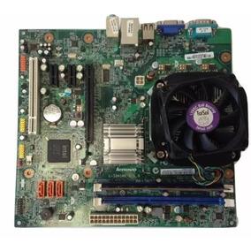 Placa Mãe Lenovo L-ig41m2 Com Dual Core E5700 E 4gb Memória