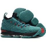 Tênis Nike Lebron Soldier Green 15 Lancamento