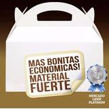 Caja, Cajita Feliz, Caja Cotillon, Caja De Cartón, Lonchera