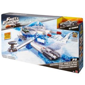 Pista Ataque De Míssil Congelante - Fast & Furious - Mattel