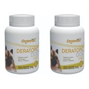 2 X Deratopic Dog Tabs 54 G Organnact 54g