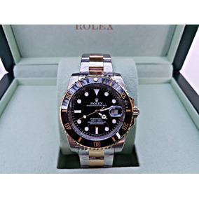 Reloj Rolex Submariner Automatico Acero/oro Luminiscente