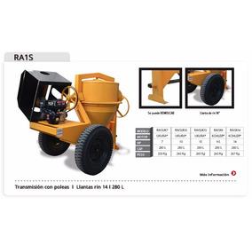 Revolvedora De Concreto Motor 10 Hp